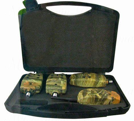 Электронный сигнализатор поклевки GLOBE дипломат TLI-05 (4шт)