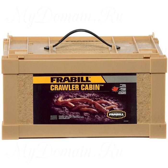 Контейнер малый для живых приманок Frabill Crawler Cabin, 20см*16см*15см (#1016)