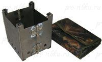 Мини печь РИФ разборная в чехле 0,95кг, нерж.ст. 170х150х150 0,95кг