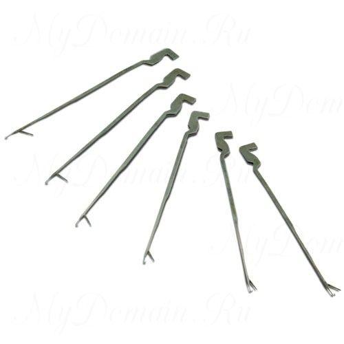 Игла для монтажа лидкора Climax Splice needle ( В комплекте читыри запасных иглы)