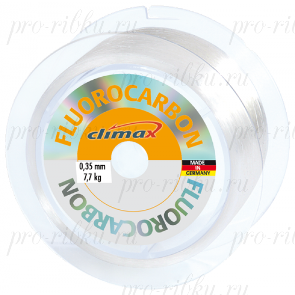 Леска Climax Fluorocarbon 0,25 мм 100 м 4,6 кг
