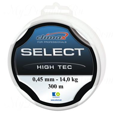 Леска Climax Select High Tec (голубая) 100 м 0,40 мм 12,0 кг (особо прочная на узлах)