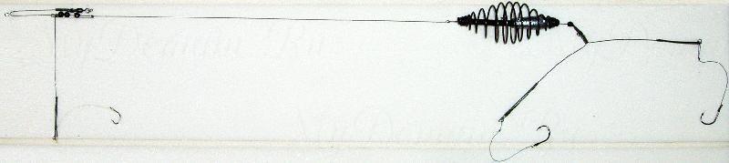 Донная оснастка, спираль, 25г, кр. №4