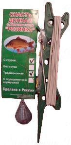 """Монтаж рыболовный """"Резинка 8к"""" (Б.Л.) без груза"""