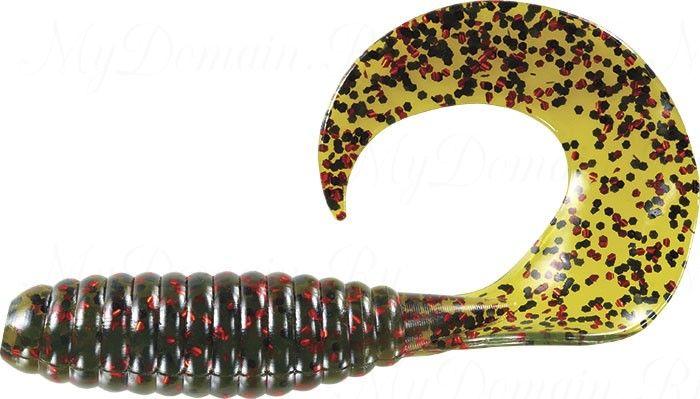 Твистер MISTER TWISTER FAT Curly Tail 9 cm 14RBK- Watermelon Red уп. 8 шт. фирменная упаковка