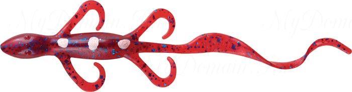 Ящерица MISTER TWISTER Super Lizard 15 см 9BS-Plum уп. 5 шт. фирменная упаковка NEW