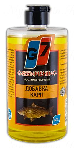"""Добавка Greenfishing """"карп"""", объем 700 мл"""